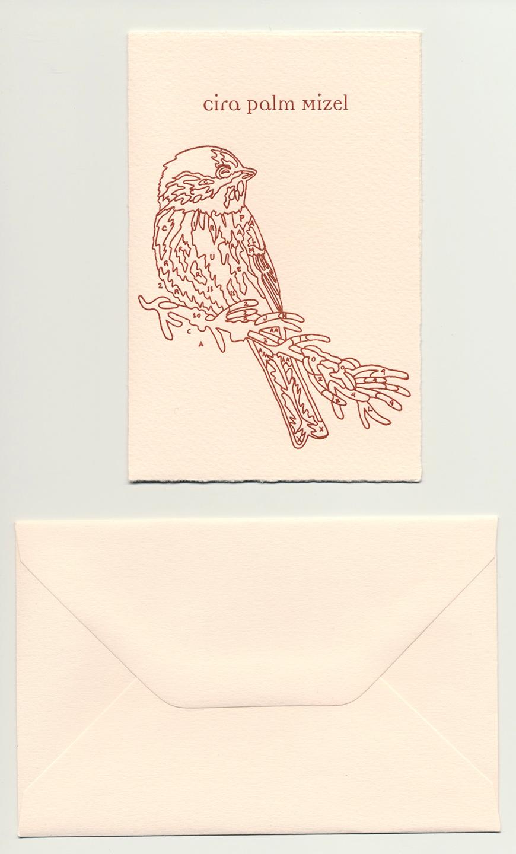 Cira's-letterpress-Birth-Announcement,-Papivore